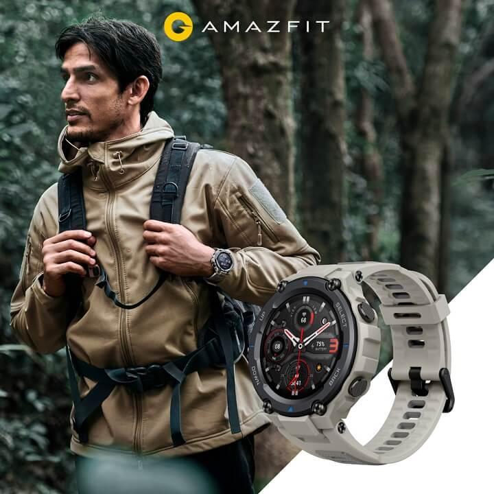 『Amazfit T-Rex Pro』無敵なデザイン